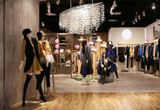 Boutique Stock Photo