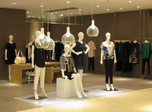 Boutique. View of a boutique interior Royalty Free Stock Images