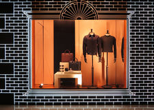 Boutique. View of a boutique interior Royalty Free Stock Photo