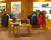 Boutique. View of a boutique interior Royalty Free Stock Photos
