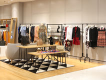 Boutique. View of a boutique interior Royalty Free Stock Image