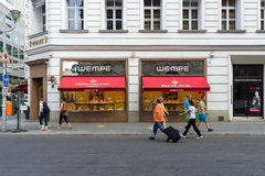 Boutique Wempe on Friedrichstrasse Stock Photography