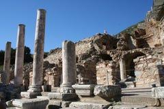 Boutiques bibliques d'Ephesus Photographie stock