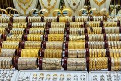 Boutiques de bijoux de bazar d'Amir Bazaar ou d'or à Tabriz Province est de l'Azerbaïdjan l'iran Images stock