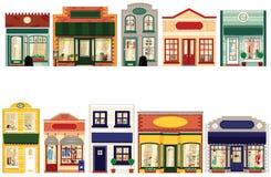 Boutiques de boutique Image libre de droits