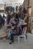 Boutiques de souvenirs en Jordanie Photos libres de droits
