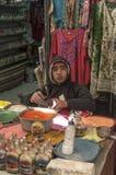 Boutiques de souvenirs en Jordanie Photo stock