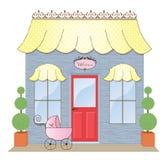 boutiqueskyltfönster Royaltyfri Fotografi