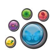 bouton Photos stock