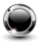 Bouton blanc de Web Images stock
