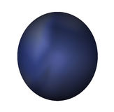 Bouton bleu-foncé de Web Photos libres de droits