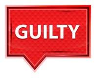 Bouton brumeux coupable de bannière de rose de rose illustration libre de droits