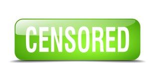 bouton censuré illustration libre de droits