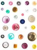 Bouton coloré Images libres de droits