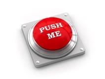 Bouton d'alarme avec l'inscription Images libres de droits