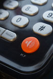 Bouton d'appel au téléphone Images stock
