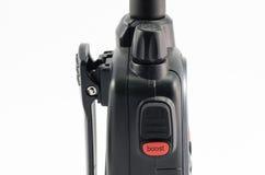 Bouton d'appel de talkie-walkie Images libres de droits