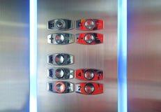 Bouton d'ascenseur photographie stock libre de droits