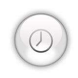 Bouton d'horloge Image libre de droits