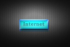 Bouton d'Internet images libres de droits