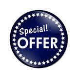 Bouton d'offre spéciale Image stock