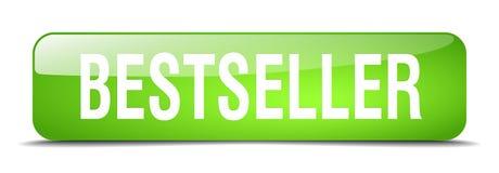 bouton de best-seller illustration stock
