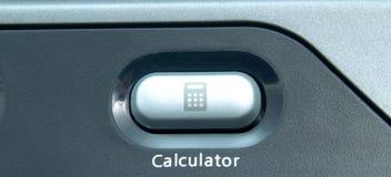 Bouton de calculatrice Images libres de droits
