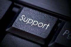 Bouton de clavier de support Photos libres de droits