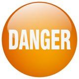 Bouton de danger illustration de vecteur