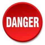 Bouton de danger illustration stock