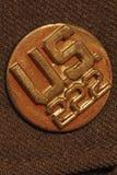 Bouton de Division de l'armée américaine Images libres de droits