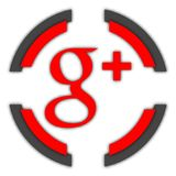 Bouton de G+ illustration libre de droits