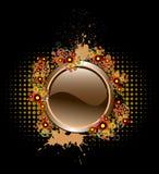 Bouton de grunge de vecteur Image stock