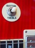 Bouton de guitare Image stock
