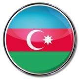 Bouton de l'Azerbaïdjan illustration libre de droits