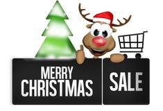 Bouton de Noël Images stock