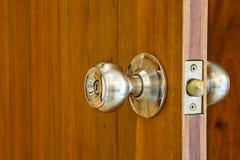 Bouton de porte en métal Photos libres de droits