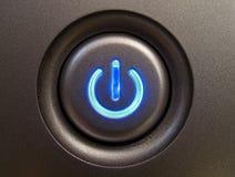 Bouton de pouvoir. Image stock
