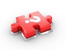 Bouton de puzzle Images libres de droits