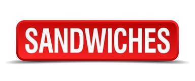 bouton de sandwichs illustration stock