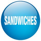 bouton de sandwichs illustration de vecteur
