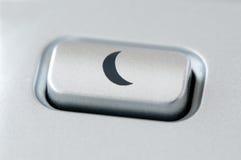 Bouton de sommeil Image libre de droits