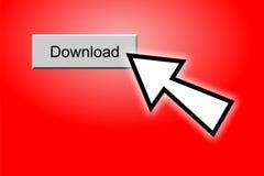 Bouton de téléchargement Images stock