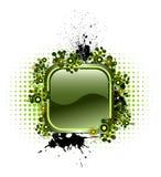 Bouton de vecteur avec les éléments populaires Photo stock