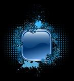 Bouton de vecteur avec les éléments populaires Images stock
