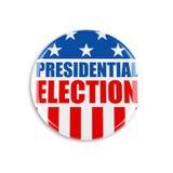 bouton de vote de 3d Etats-Unis Photographie stock libre de droits