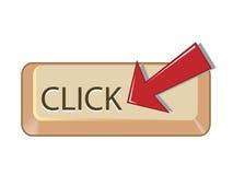Bouton de Web Photographie stock