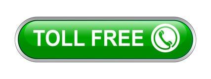 Bouton en service libre appel illustration libre de droits