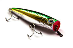 Bouton-pression pour la pêche Photos stock