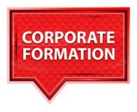Bouton rose rose brumeux de bannière de formation d'entreprise illustration libre de droits